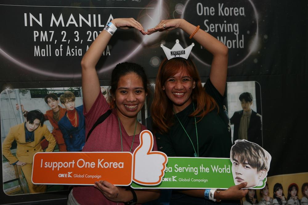 """Concierto por la Paz """"Una Corea"""" en Manila, Filipinas"""
